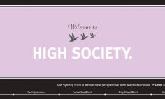 Welcome to High Society Advertisement