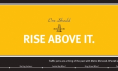 Rise above it Advertisement
